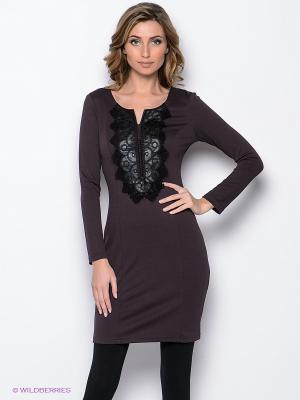Платье Remix. Цвет: сливовый, черный