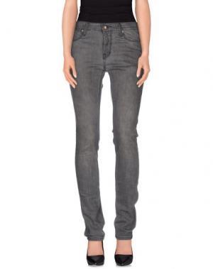 Джинсовые брюки ZU+ELEMENTS. Цвет: серый