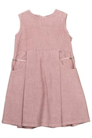 Платье Gucci Kids. Цвет: фиолетовый