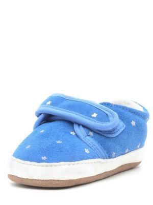 Пинетки Детские MELTON. Цвет: голубой