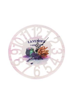 Часы настенные 30 см. PATRICIA. Цвет: бледно-розовый