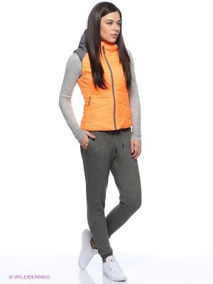 Жилет Rdzw Padded Vest Reebok. Цвет: оранжевый