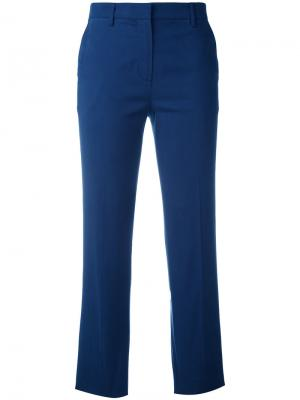 Укороченные брюки Sonia By Rykiel. Цвет: синий