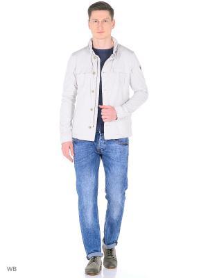 Куртка GUESS. Цвет: молочный