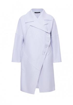 Пальто Lucky Move. Цвет: серый