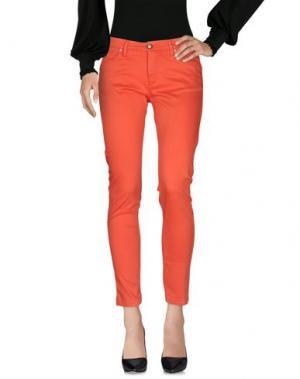 Повседневные брюки MASSIMO REBECCHI. Цвет: кирпично-красный