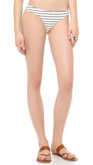 Плавки бикини Dane Tyler Rose Swimwear. Цвет: черный/белый