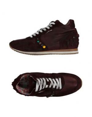 Высокие кеды и кроссовки YAB. Цвет: какао