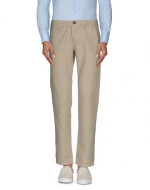 Повседневные брюки BRIAN DALES. Цвет: песочный