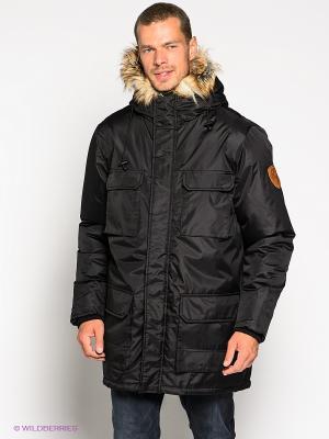 Куртка RedSkins. Цвет: черный