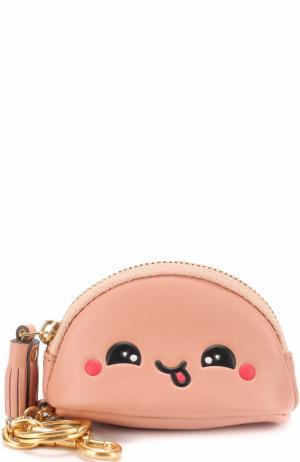 Брелок для сумки Kawaii Anya Hindmarch. Цвет: розовый