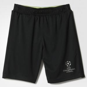 Шорты Лига чемпионов UEFA  Performance adidas. Цвет: черный