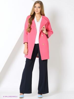 Пальто PF. Цвет: малиновый