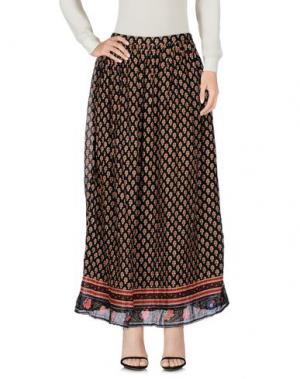 Длинная юбка LOCAL APPAREL. Цвет: черный
