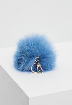 Брелок Furla. Цвет: голубой