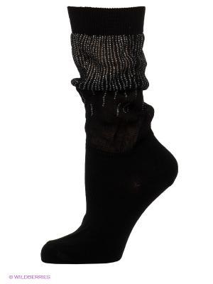 Носки OMERO. Цвет: черный, серебристый