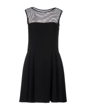Короткое платье FISICO. Цвет: черный