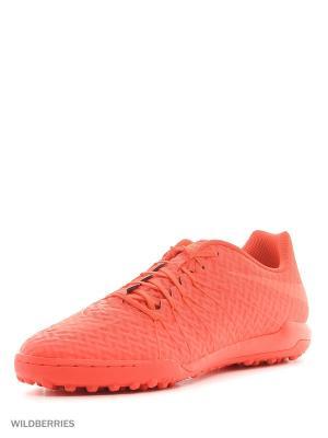 Шиповки HYPERVENOMX FINALE TF Nike. Цвет: красный