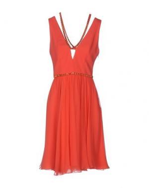 Короткое платье JENNY PACKHAM. Цвет: красный