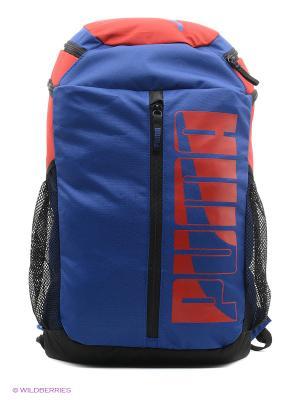 Рюкзак PUMA Deck Backpack II. Цвет: синий