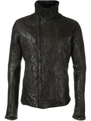 Куртка с воротником-воронкой Isaac Sellam Experience. Цвет: зелёный