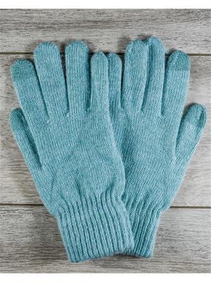 Перчатки Versal. Цвет: бирюзовый