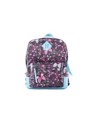Рюкзак VERSADO. Цвет: голубой, розовый, черный