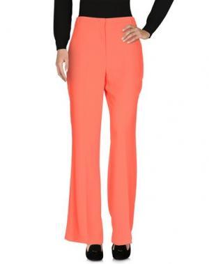 Повседневные брюки HANITA. Цвет: оранжевый