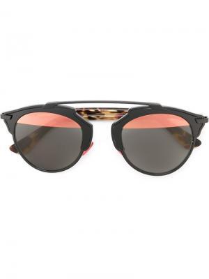Солнцезащитные очки So Real Dior Eyewear. Цвет: чёрный