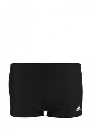 Плавки adidas Performance. Цвет: черный