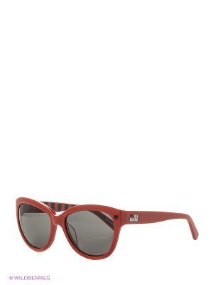 Солнцезащитные очки ML 532S 04 MOSCHINO. Цвет: красный