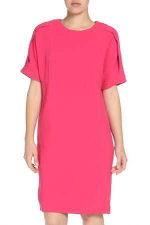Свободное платье MSGM. Цвет: розовый