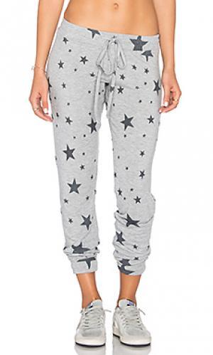 Классические спортивные брюки bear Michael Lauren. Цвет: серый