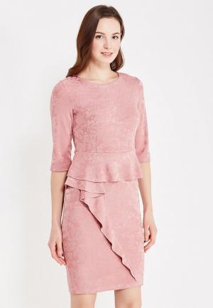 Платье Miss & Missis. Цвет: розовый