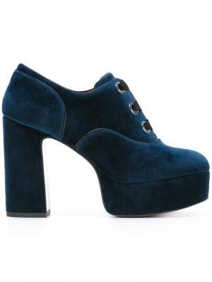 Туфли на платформе Beth Marc Jacobs. Цвет: синий