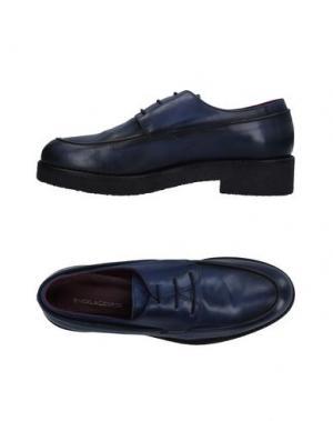 Обувь на шнурках ANGELA GEORGE. Цвет: синий