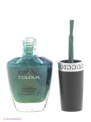 Лак Cuccio Colour, Dubai me an isl COLOUR. Цвет: серо-зеленый