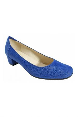 Туфли BOSCCOLO. Цвет: синий