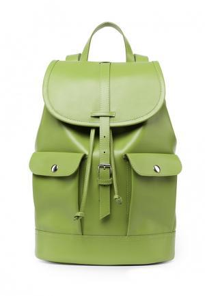 Рюкзак Asya Malbershtein. Цвет: зеленый