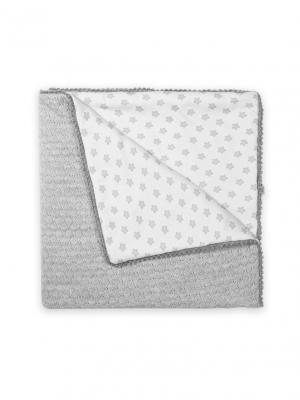 Плед Шушик Сонный гномик. Цвет: серый