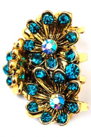 Винтажная заколка FRANSUA ARDY. Цвет: голубой