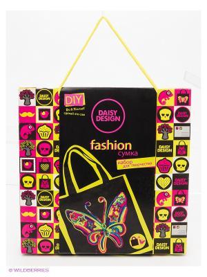 Набор для декорирования сумочки NEONБабочка Daisy Design. Цвет: черный