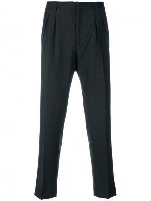 Прямые брюки Gabriele Pasini. Цвет: серый