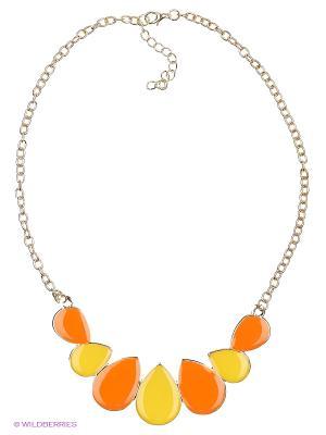 Колье Vittorio Richi. Цвет: желтый, оранжевый