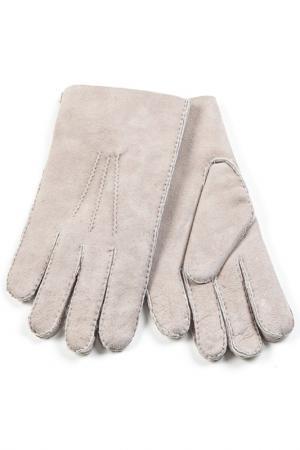 Перчатки Otto kessler. Цвет: бежевый