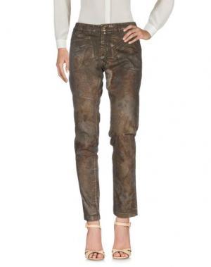 Повседневные брюки KUBERA 108. Цвет: какао