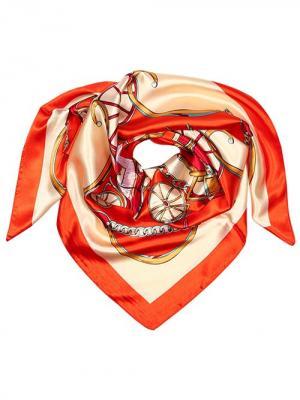 Платок City Flash. Цвет: оранжевый, бежевый, коричневый