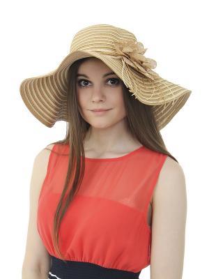 Шляпа Olere. Цвет: коричневый