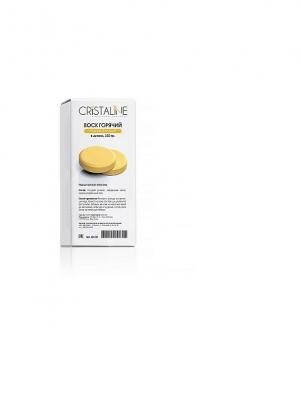 Воск горячий натуральный в диске 330 г Cristaline. Цвет: белый