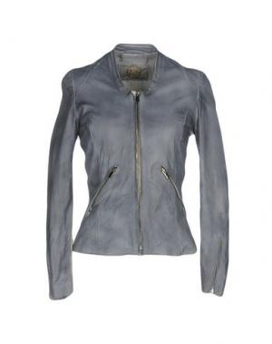 Куртка VINTAGE DE LUXE. Цвет: грифельно-синий